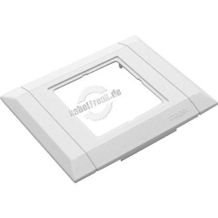 Hager Geräteblende für Brüstungskanal tehalit.BRN, 1-fach Für Dosen von Fremdherstellern oder hager/Tehalit