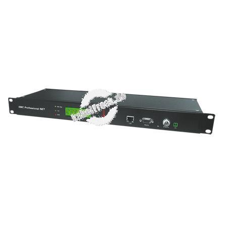 Gude EMC Professional 3011, 19' Der Zeitserver mit integrierter Funkuhr und externer Antenne für Industrieumgebungen