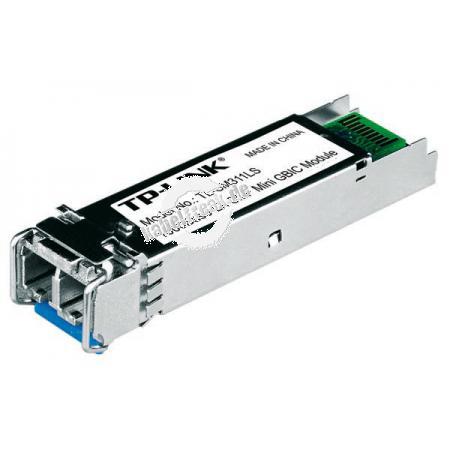 TP-Link Mini GBIC (SFP) Modul LC, 1 Gigabit/s, LWL, 1000Base-LX (Singlemode) Gigabit-Uplinkmodul zur Erweiterung eines Switchs um einen LWL Anschluss