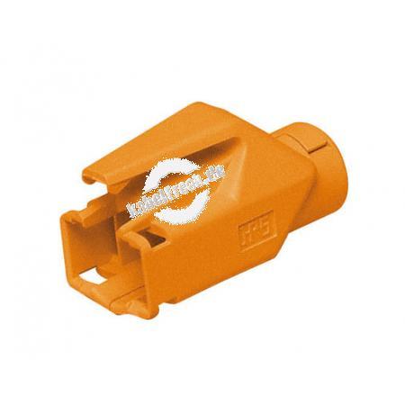 Hirose Knickschutztülle für Modularstecker TM21 und TM31, orange Verhindert Beschädigungen am Stecker