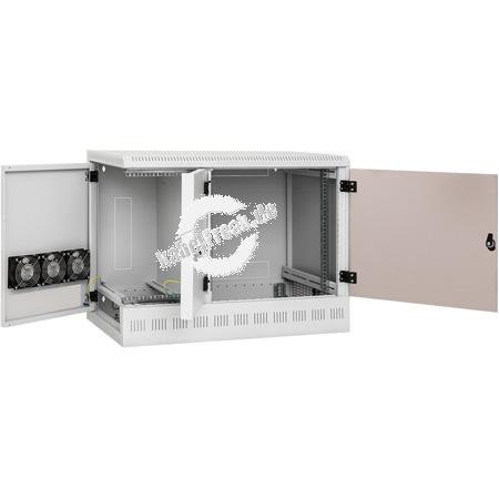 Triton 19' Wandgehäuse mit drei Einbauabschnitten: 12HE + 6HE mit Einbautiefe 460mm + 4HE mit Einbautiefe 840mm RFA - Eine einzigartige Lösung für kleinere und mittlere Firmen