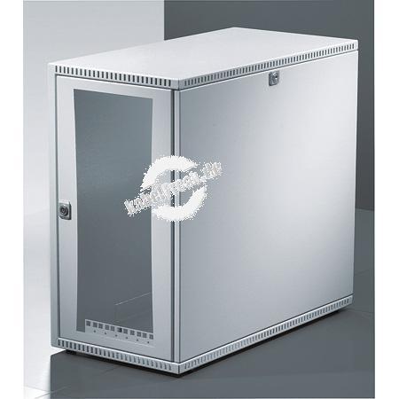 Rittal 19' Tisch- / Wandgehäuse VerticalBox, 5 HE, 550 x 600 mm, hellgrau RAL 7035 Kompaktes 19' Gehäuse mit vielfältigen Einsatzmöglichkeiten